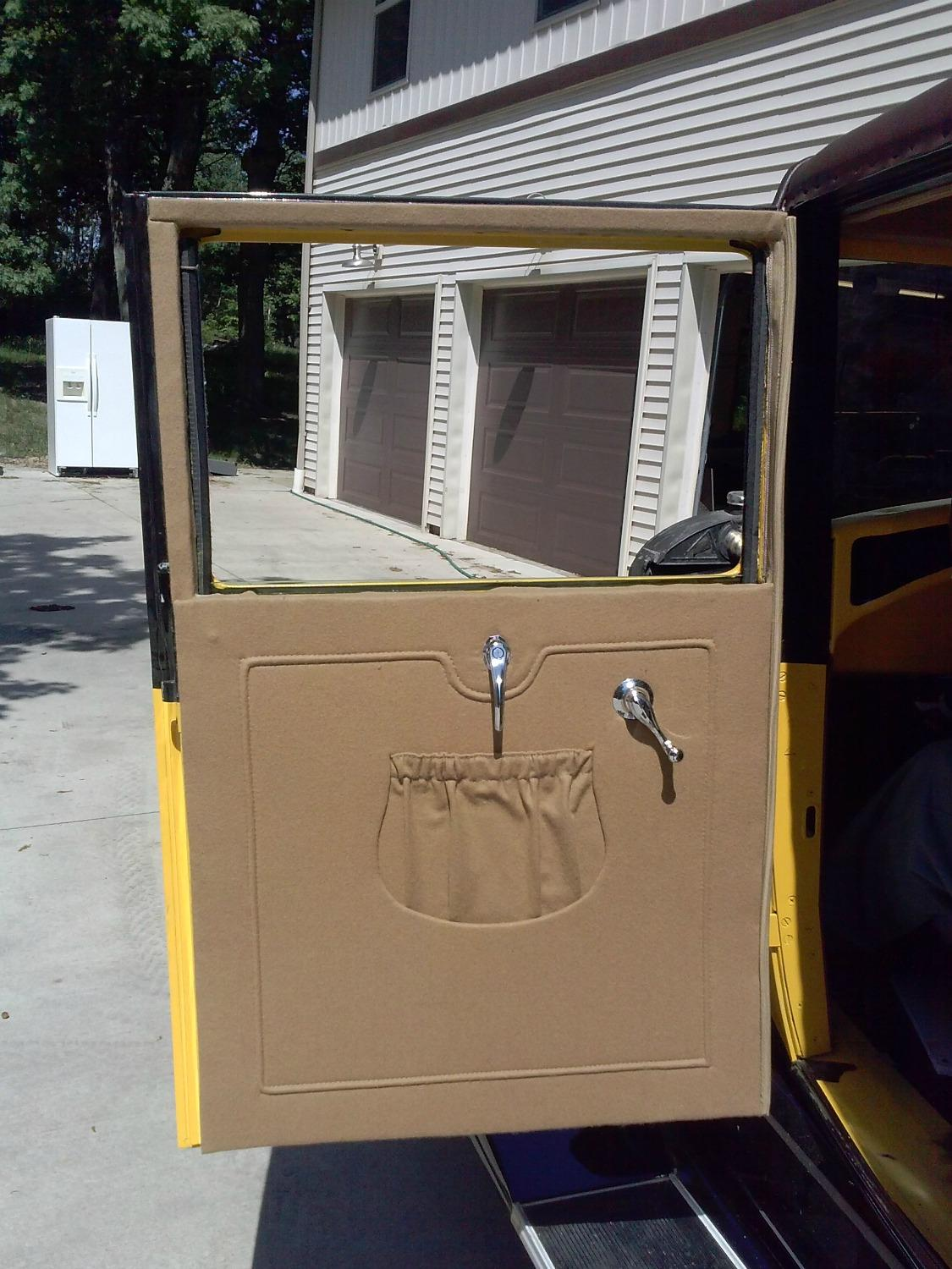 Model A Door Panel With Pocket 1500